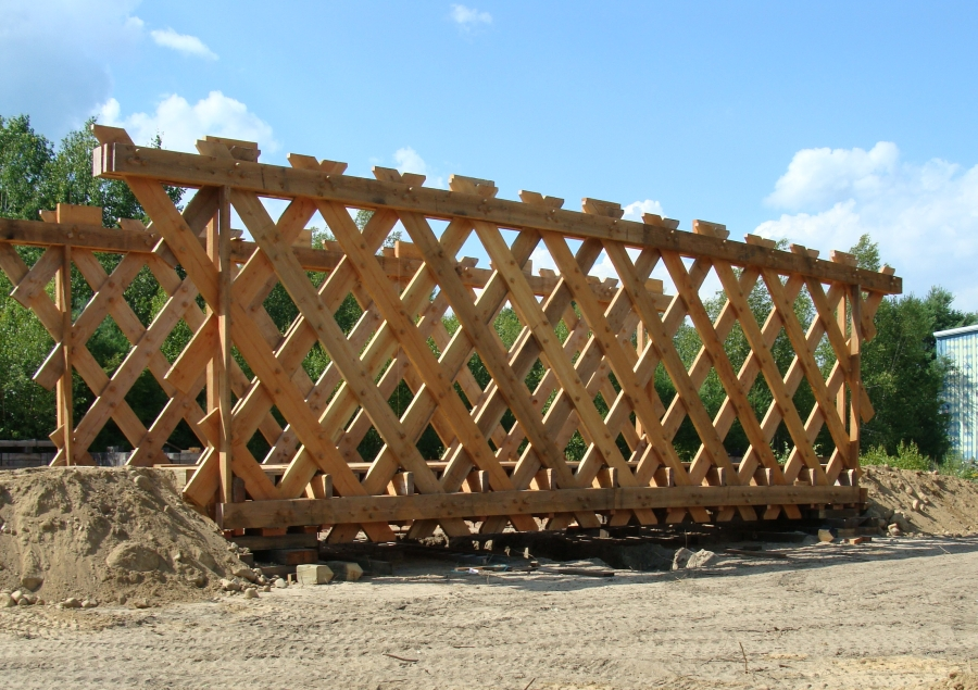 campton bridge trusses